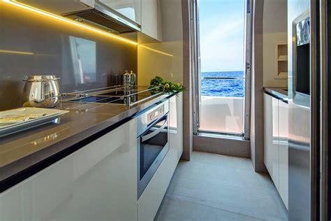yacht kitchen azimut yachts interior kitchen seatech marine products