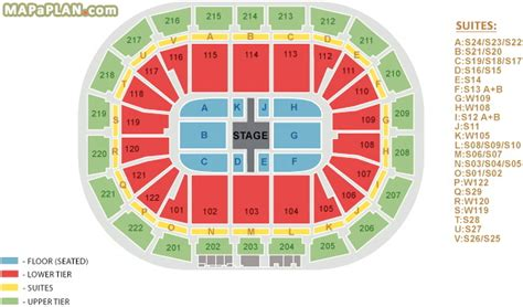Metro Arena Floor Plan by Manchester Arena Seating Plan Detailed Seat Numbers