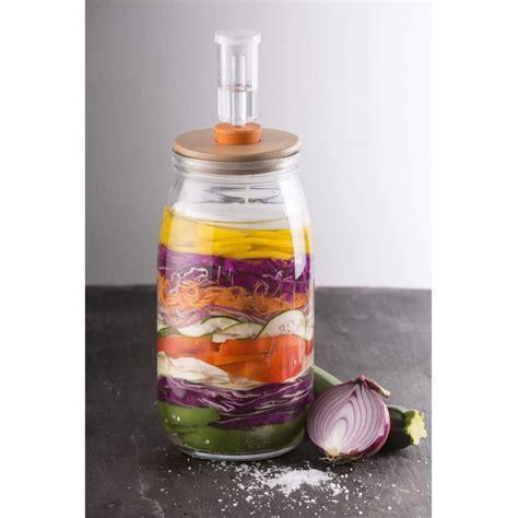 Kilner Round 3 Litre Fermentation Jar Set   Dove Mill