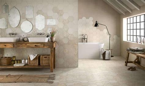 piastrelle cementine cementine esagonali per il bagno foto design mag