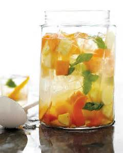 white sangria with summer fruits recipe dishmaps