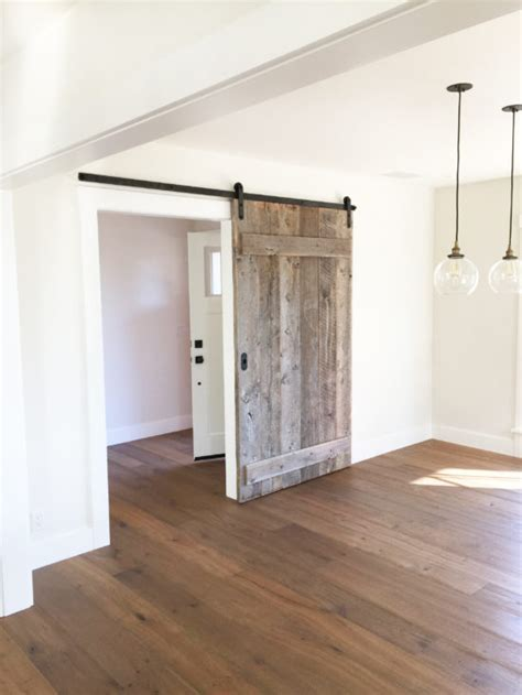 Dining Room Barn Doors From Dated To Modern Rustic Before And After Design