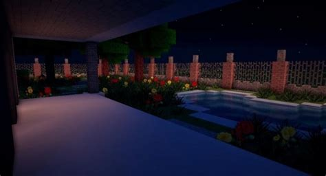 modern house map  minecraft   pc java mods