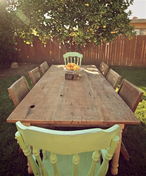 large ft reclaimed wood farmhouse dining table raw