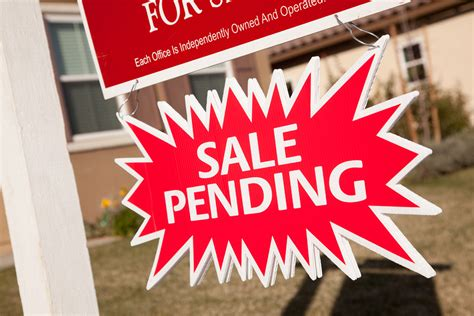what does pending mean on a house what does sale pending mean