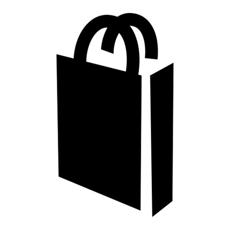 bags logo png shopping bag icon black