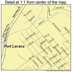 map of port lavaca port lavaca map 4858916