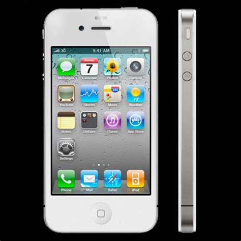 Hp Apple Iphone 4 Gsm apple iphone 4 8gb smartphone unlocked gsm white excellent condition used cell phones