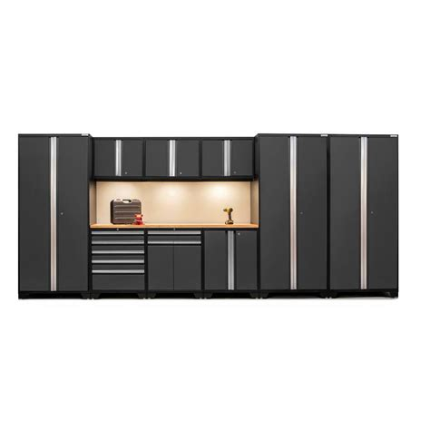 new age pro series cabinets newage products pro 3 series 85 in h x 192 in w x 24 in