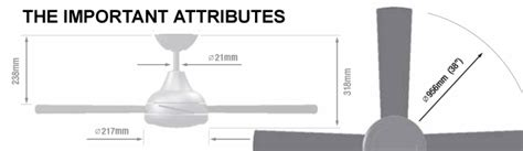 Ceiling Fan Blade Length Room Size Ceiling Fan Blades It S Not Just Size That Counts