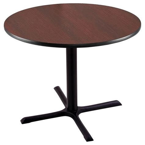 X Bar Table 30 Quot Pub Table 30 Quot X 30 Quot Foot Black Mahogany Dcg Stores