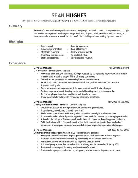 unforgettable assistant manager resume examples to stand out