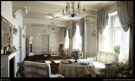 Classic Interior by Classic Interior Details By Marcin Jastrzebski 3d
