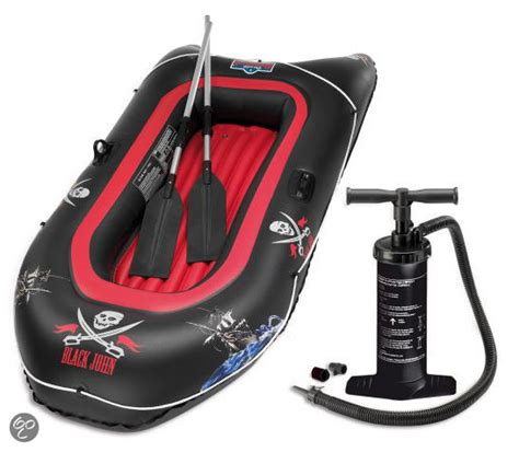 rubberbootje action bol black john rubberboot incl pomp en peddels
