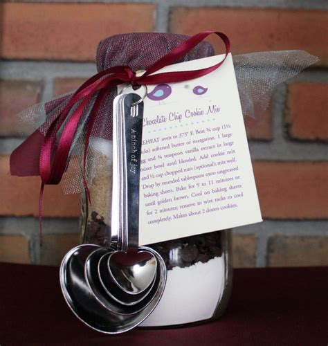 Handmade Favors - handmade bridal shower jar cookie mix favors