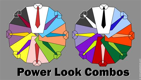 shirt and tie colour combinations