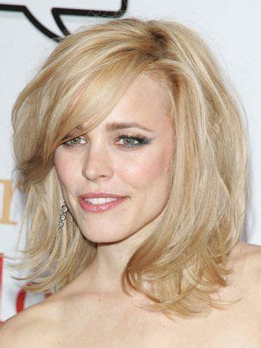 elegant medium length hairstyles for women over 40 best 10 rachel mcadams hair blonde red bob updo braided