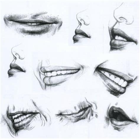 imagenes para dibujar al lapiz dibujo al natural dibujando la boca dibujo pinterest