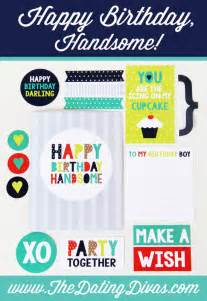 birthday cards for him printable printable birthday cards for your husband