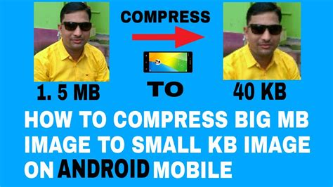 compress pdf mb to kb online how to compress large mb image to small kb image on your