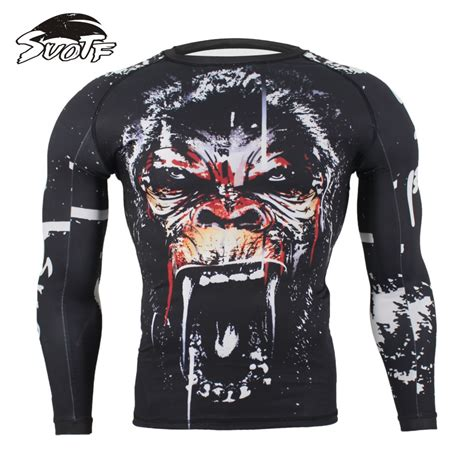 Sweater Muay Thai Cloth suotf mma fitness monkey pattern thai boxing sports sweater sleeve boxing jerseys