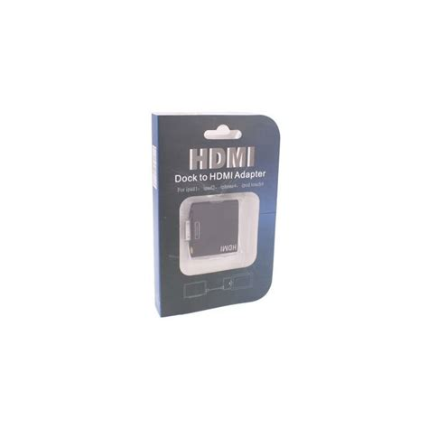 adaptateur dock hdmi usb iphone ipod touch 4