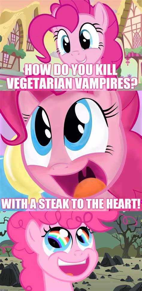 Pinkie Pie Meme - bad pun pinkie pie imgflip
