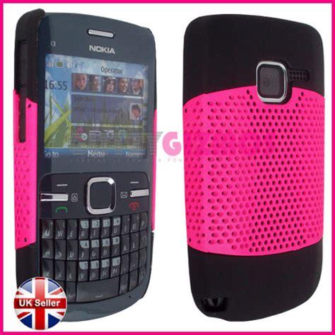 Hardcase Crom Nokia C3 index of ebay images nokia c3 mesh pink