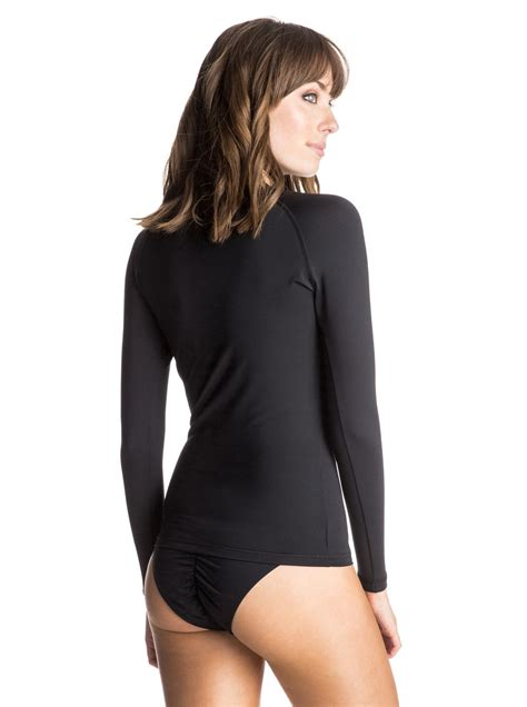 stores that sell ls roxy women s whole hearted long sleeve rashguard