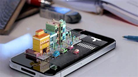 3d phone apple iphone 3d diorama animation