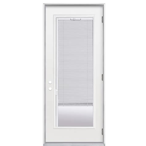 shop reliabilt 36 quot w commodity lite blinds between the glass steel door at lowes