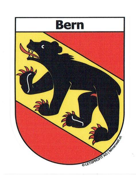 Wappen Aufkleber by Bern Be Sticker N Wappenform Mit Schriftzug Bern