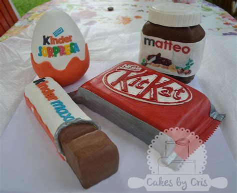 Kitkat Maxy kinder egg kitkat nutella and kinder maxi chocolate cake