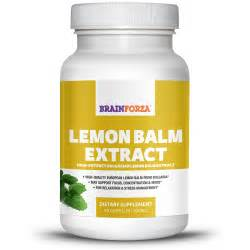 Lemon Balm Extract for Anxiety & Relaxation, 90 Veggie Caps