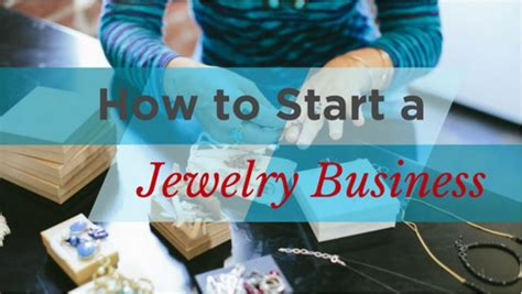 How To Start A Handmade Jewelry Business - how to start a jewelry business create your own