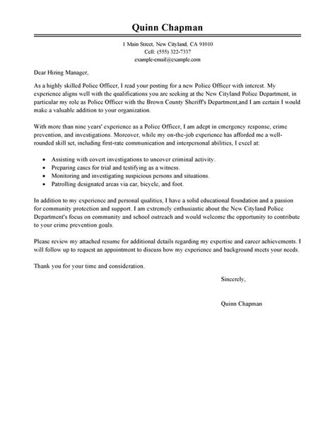 cover letter sle for enforcement guamreview