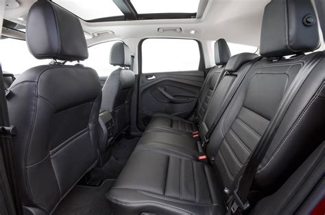 ford escape 2016 interior ford escape review and rating motor trend