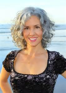 hairstyles for at age 39 17 best images about curly gray hair on pinterest