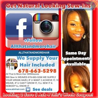 salons speaclize in hair growth weaves atlanta ga natural looking sew in tape in braidless fusion micro