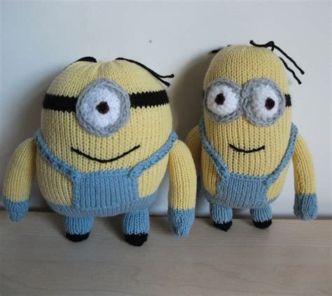 knitting pattern minion despicable me knitted despicable me minions for my nephews improvised