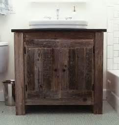 reclaimed barn wood bathroom vanity reclaimed wood vanity with vessel sink home