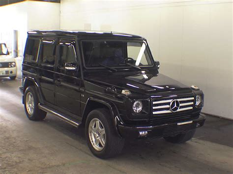 mercedes benz g wagon japan buy mercedes benz from japan japanese used cars auction online