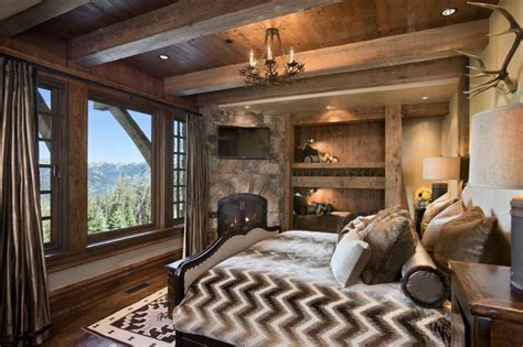 Rustic Rooms by Rustic Bedrooms Design Ideas Canadian Log Homes