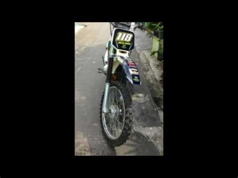 As Shock Depan Yamaha Zr Original motor yamaha fizr modif trail yz 2003 sho