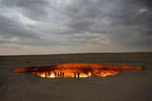 door to hell derweze turkmenistan places photos