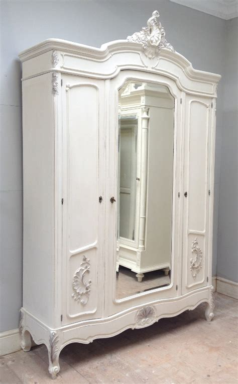 triple armoire if3728 antique french rococo triple door armoire
