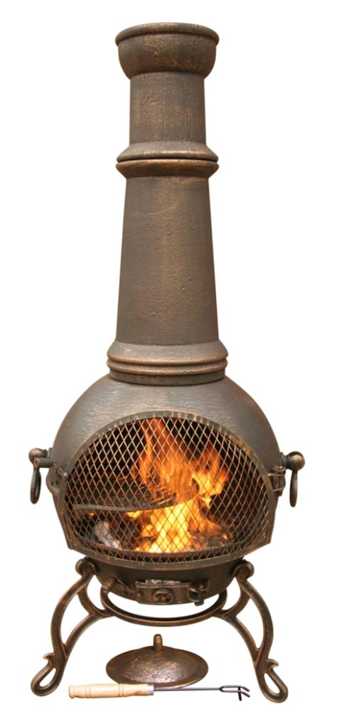 Best Type Of Chiminea Cast Iron Chiminea Toledo Jumbo 1 5m Xl Bronze Ebay