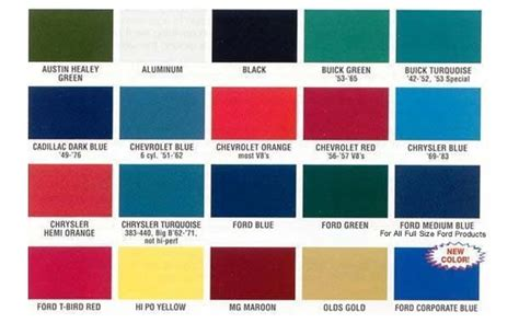 11 best images of dupli color engine paint color chart green paint colors valspar automotive