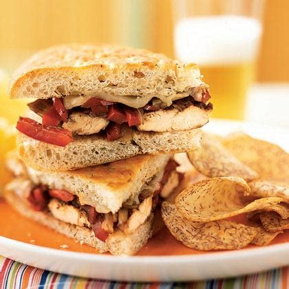 Healthy Balsamic Glazed Chicken And Bell Pepper Sandwiches by Balsamic Glazed Chicken Bell Pepper Sandwiches Recipe