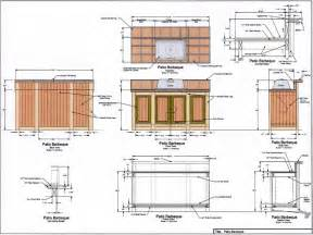 Bbq island plans outdoor bbq kitchens plans bbq island plans outdoor